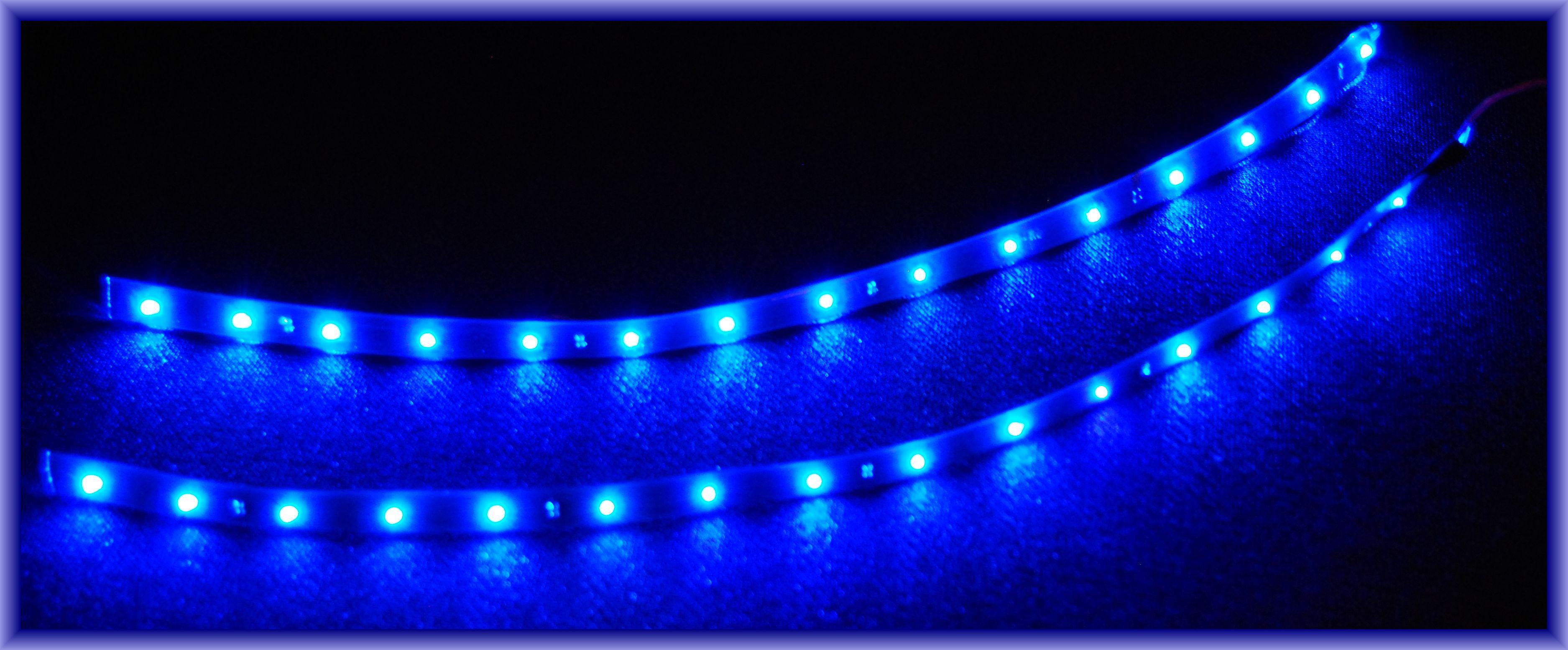 3 X 30cm Pc Beleuchtung Led Blau Pc Licht Incl Kabel
