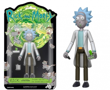 FUNKO ARTICULATED ACTION FIGURE: RICK & MORTY
