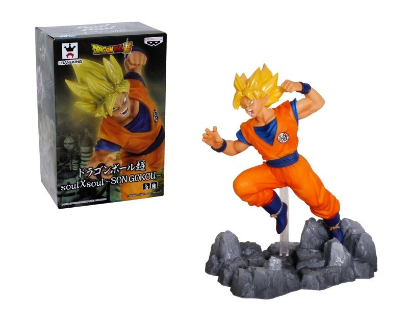 Figura 10 Cm. Dragon Ball Super Soul Son Goku