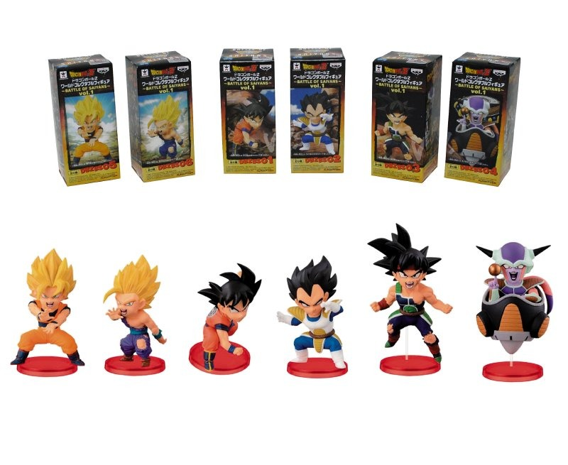 Figura 7 Cm. Dragon Ball Z Wcf Battle Of Saiyans