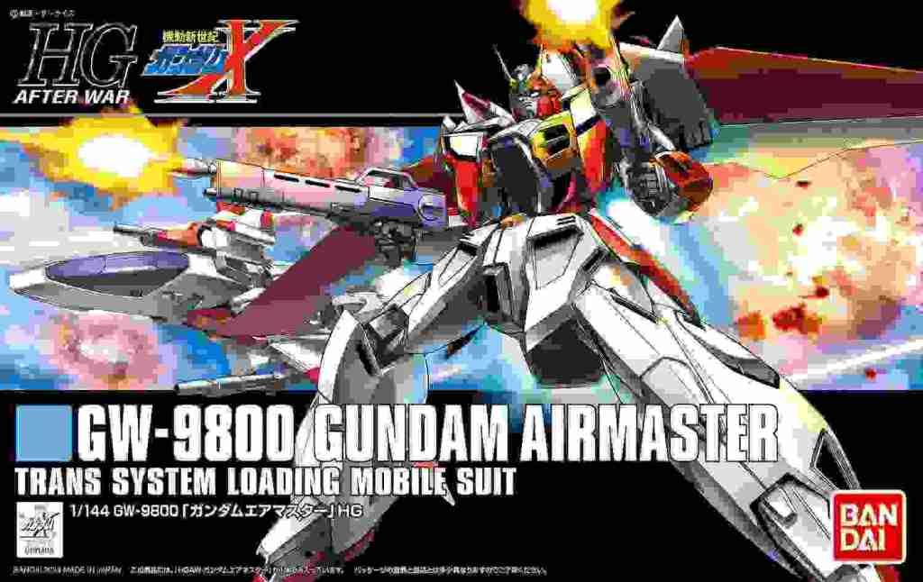 HGAW184 1/144 Gundam Air Master (Mobile New Century Gundam X)