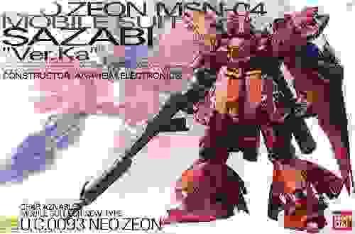MG 1/100 Msn-04 Sazabi Ver.Ka Bandai Hobby