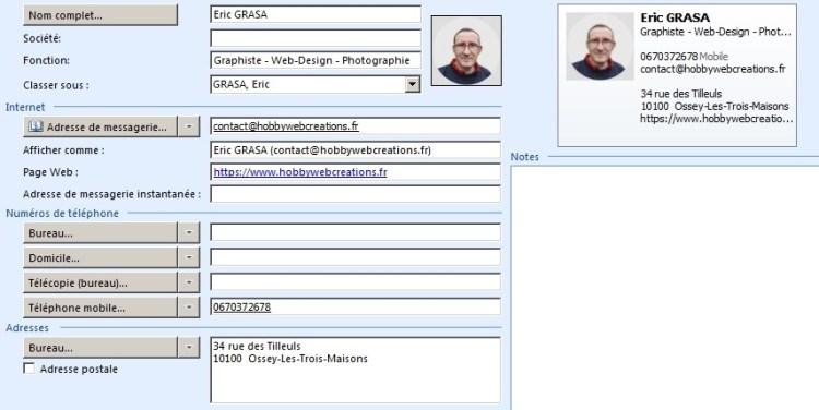 Eric GRASA - Contact