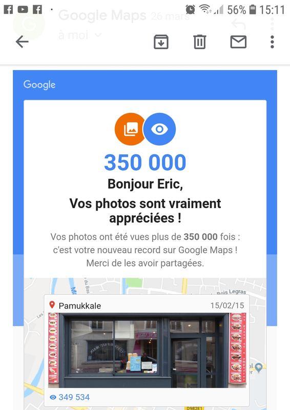Félicitations Google Maps Pamukkale-Vitry