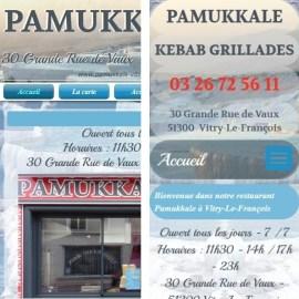 Evolution du site Pamukkale-Vitry