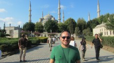 Me and the Blue Mosque