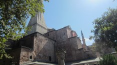 From the outside, you can see the Hagia Sophia is immense