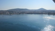 The lovely view of Kusadasi