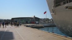 The dock at Kusadasi