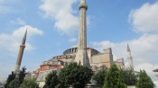 The Hagia Sophia, although we didn't see the inside till the next day