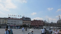 This is the open square near the New Mosque and Spice Market