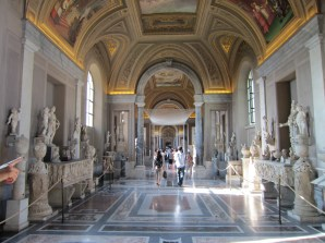 Or maybe it was the Hall of Sculptures again...