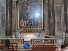 The tomb of Pope John Paul II