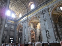 Seriously unbelievable is the size of St Peters
