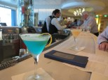 This blue twist martini became my favorite
