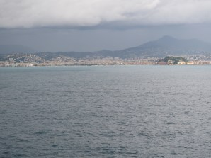Approaching Villefranche