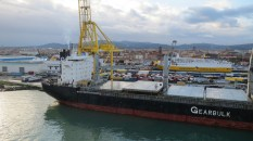 The Livorno port - not pretty, but so what