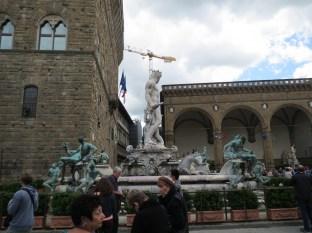 Back at the Palazzo Vecchio