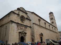 The Franciscan Monastery and a really old pharmacy