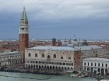The Campanile, Doge's Palace, and tons of tourists