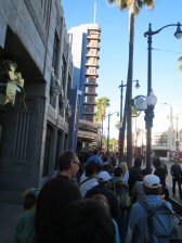 The line to get Radiator Springs Racers fastpass