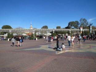 Disneyland beckons