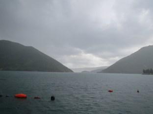 Dreary and rainy