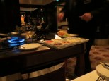 Tableside service