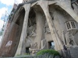 This is the Passion facade on the west