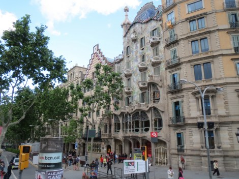 We'd explore Casa Batilo tomorrow