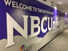 The NBCU Purple Wall