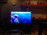 Here's Finding Nemo 3D too - you can see the 3D blurriness here as you need the glasses on to experience it properly