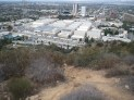 Up a good chunk of the way looking down to Warner Bros