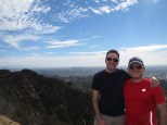 Larry & Me on top of the world