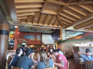 Dinner at Margaritaville