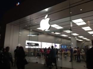 Ah, Apple store
