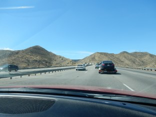 Driving through the Grapevine