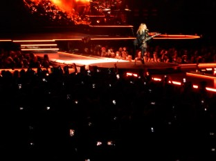 "Madonna then rocked us with an awesome ""Burning Up"""