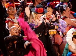 Best of all, Madonna was having a blast