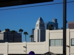 DTLA view from the Gold Line station