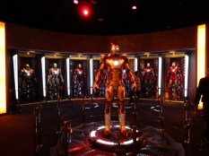 The Iron Man section