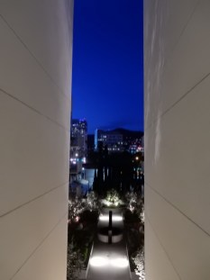 View from an apartment walkway