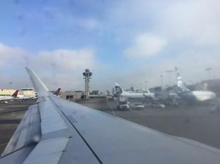 Leaving LAX
