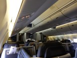 The fairly large Business Class section
