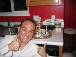 And me with my birthday cake, after work!!!