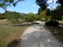 The paths unwind throughout the grounds from the Petit Trianon