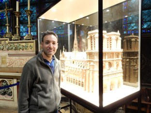 Cool model of the cathedral