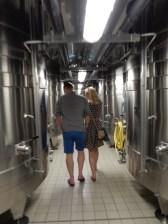 Not always charming cork vats