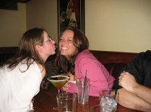 KD & Susan almost making out!