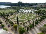 Looking out over the Orangerie